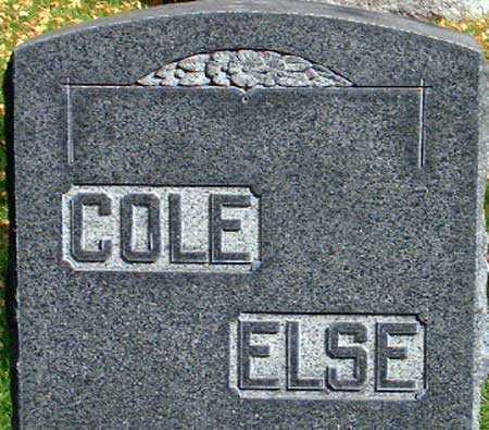 COLE, FAMILY - Salt Lake County, Utah | FAMILY COLE - Utah Gravestone Photos