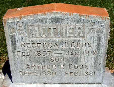 COOK, ARTHUR ROBERT - Salt Lake County, Utah   ARTHUR ROBERT COOK - Utah Gravestone Photos