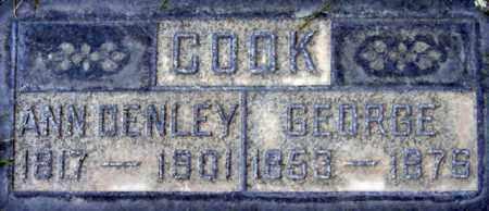 COOK, GEORGE - Salt Lake County, Utah | GEORGE COOK - Utah Gravestone Photos