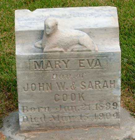 COOK, MARY EVA - Salt Lake County, Utah | MARY EVA COOK - Utah Gravestone Photos