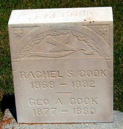 COOK, RACHEL SARAH - Salt Lake County, Utah | RACHEL SARAH COOK - Utah Gravestone Photos