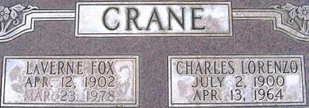 CRANE, LA VERNE - Salt Lake County, Utah   LA VERNE CRANE - Utah Gravestone Photos