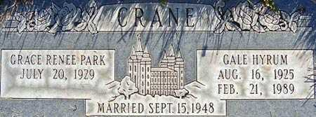 PARK, GRACE RENEE - Salt Lake County, Utah | GRACE RENEE PARK - Utah Gravestone Photos