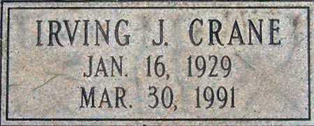 CRANE, IRVING JAY - Salt Lake County, Utah | IRVING JAY CRANE - Utah Gravestone Photos