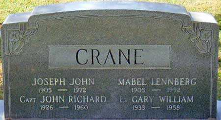 CRANE, JOSEPH JOHN - Salt Lake County, Utah | JOSEPH JOHN CRANE - Utah Gravestone Photos