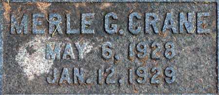 CRANE, MERLE GRAY - Salt Lake County, Utah   MERLE GRAY CRANE - Utah Gravestone Photos