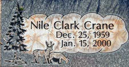 CRANE, NILE CLARK - Salt Lake County, Utah   NILE CLARK CRANE - Utah Gravestone Photos
