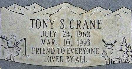 CRANE, TONY S. - Salt Lake County, Utah   TONY S. CRANE - Utah Gravestone Photos