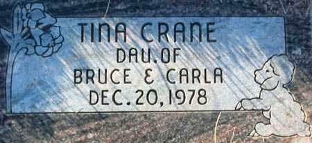 CRANE, TINA - Salt Lake County, Utah | TINA CRANE - Utah Gravestone Photos