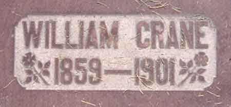 CRANE, WILLIAM - Salt Lake County, Utah | WILLIAM CRANE - Utah Gravestone Photos