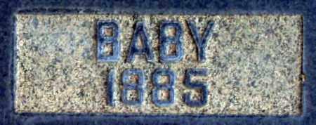 CRUMP, BABY - Salt Lake County, Utah   BABY CRUMP - Utah Gravestone Photos