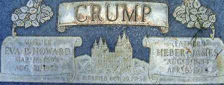 CRUMP, EVA PEARL - Salt Lake County, Utah | EVA PEARL CRUMP - Utah Gravestone Photos