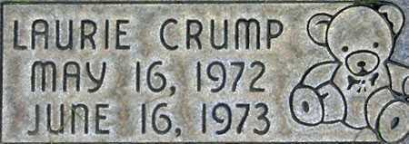 CRUMP, LAURIE - Salt Lake County, Utah | LAURIE CRUMP - Utah Gravestone Photos