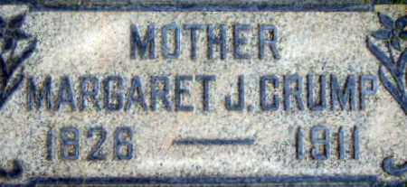 JAMES CRUMP, MARGARET ANN - Salt Lake County, Utah | MARGARET ANN JAMES CRUMP - Utah Gravestone Photos
