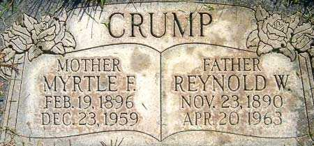 CRUMP, REYNOLD WILFORD - Salt Lake County, Utah | REYNOLD WILFORD CRUMP - Utah Gravestone Photos