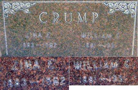 CRUMP, ZINA ELIZABETH - Salt Lake County, Utah | ZINA ELIZABETH CRUMP - Utah Gravestone Photos