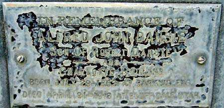 DANSIE, ALFRED JOHN - Salt Lake County, Utah | ALFRED JOHN DANSIE - Utah Gravestone Photos