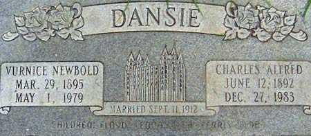 DANSIE, VURNICE ELIZABETH - Salt Lake County, Utah | VURNICE ELIZABETH DANSIE - Utah Gravestone Photos