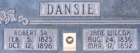 DANSIE, ROBERT SR. - Salt Lake County, Utah | ROBERT SR. DANSIE - Utah Gravestone Photos