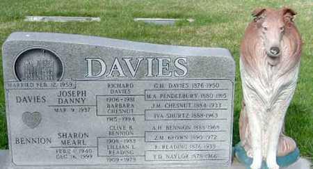 BENNION DAVIES, SHARON MEARL - Salt Lake County, Utah | SHARON MEARL BENNION DAVIES - Utah Gravestone Photos
