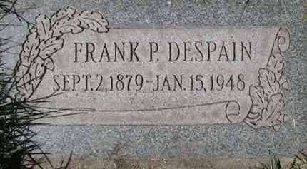 DESPAIN, FRANK PARLEY - Salt Lake County, Utah | FRANK PARLEY DESPAIN - Utah Gravestone Photos