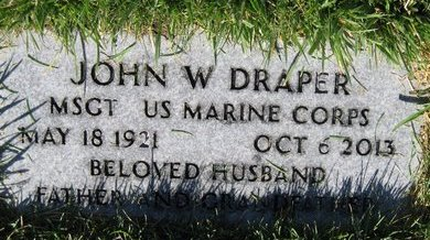 DRAPER (SERV), JOHN W - Salt Lake County, Utah | JOHN W DRAPER (SERV) - Utah Gravestone Photos