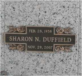 DUFFIELD, SHARON - Salt Lake County, Utah | SHARON DUFFIELD - Utah Gravestone Photos