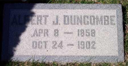 DUNCOMBE, ALBERT JOSEPH ORSON - Salt Lake County, Utah | ALBERT JOSEPH ORSON DUNCOMBE - Utah Gravestone Photos