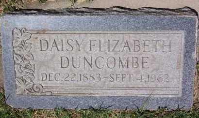 DUNCOMBE, DAISY ELIZABETH - Salt Lake County, Utah   DAISY ELIZABETH DUNCOMBE - Utah Gravestone Photos