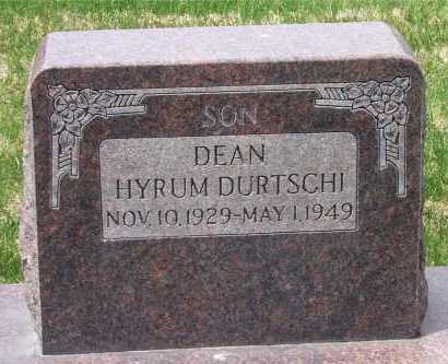DURTSCHI, DEAN HYRUM - Salt Lake County, Utah | DEAN HYRUM DURTSCHI - Utah Gravestone Photos