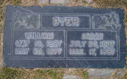 DYER, SARAH JANE - Salt Lake County, Utah | SARAH JANE DYER - Utah Gravestone Photos