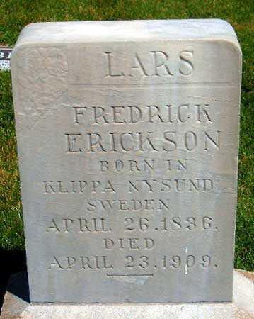 ERICKSON, LARS FREDRICK - Salt Lake County, Utah | LARS FREDRICK ERICKSON - Utah Gravestone Photos