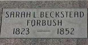 BECKSTEAD FORBUSH, SARAH LOUISA MARY - Salt Lake County, Utah | SARAH LOUISA MARY BECKSTEAD FORBUSH - Utah Gravestone Photos