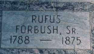 FORBUSH, RUFUS (RICHARD), SR. - Salt Lake County, Utah   RUFUS (RICHARD), SR. FORBUSH - Utah Gravestone Photos