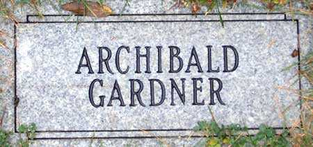 GARDNER, ARCHIBALD - Salt Lake County, Utah   ARCHIBALD GARDNER - Utah Gravestone Photos