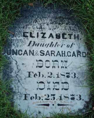 GARDNER, ELIZABETH - Salt Lake County, Utah   ELIZABETH GARDNER - Utah Gravestone Photos