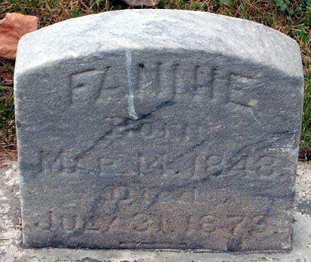 GARDNER, FANNIE - Salt Lake County, Utah   FANNIE GARDNER - Utah Gravestone Photos