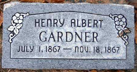 GARDNER, HENRY ALBERT - Salt Lake County, Utah   HENRY ALBERT GARDNER - Utah Gravestone Photos