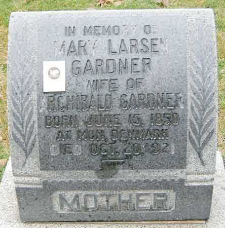 GARDNER, MARY (SIDSIE MARIE) - Salt Lake County, Utah | MARY (SIDSIE MARIE) GARDNER - Utah Gravestone Photos