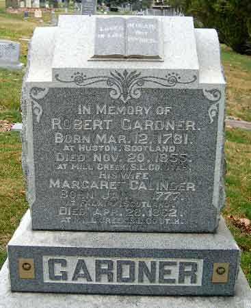 GARDNER, ROBERT - Salt Lake County, Utah | ROBERT GARDNER - Utah Gravestone Photos