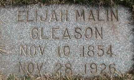 GLEASON, ELIJAH - Salt Lake County, Utah | ELIJAH GLEASON - Utah Gravestone Photos