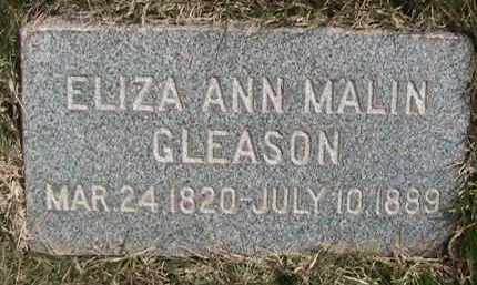MALIN, ELIZA ANN - Salt Lake County, Utah | ELIZA ANN MALIN - Utah Gravestone Photos