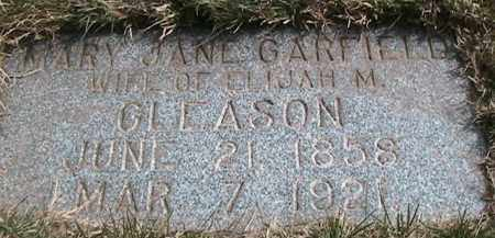 GARFIELD, MARY JANE - Salt Lake County, Utah | MARY JANE GARFIELD - Utah Gravestone Photos