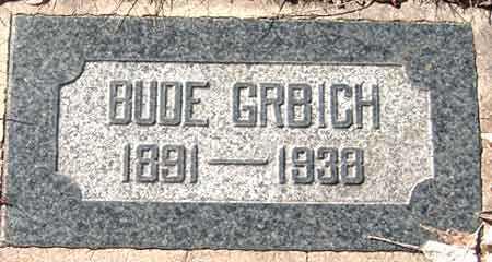 GRBICH, BUDE - Salt Lake County, Utah | BUDE GRBICH - Utah Gravestone Photos