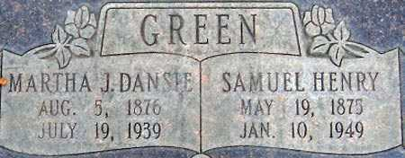 DANSIE, MARTHA JANE - Salt Lake County, Utah | MARTHA JANE DANSIE - Utah Gravestone Photos
