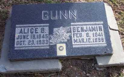 GUNN, ALICE GARDENER - Salt Lake County, Utah | ALICE GARDENER GUNN - Utah Gravestone Photos