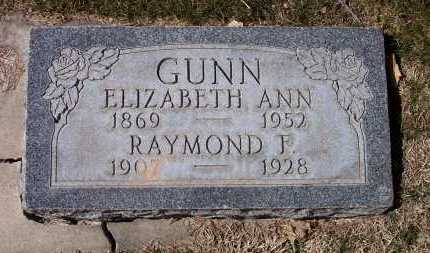 GUNN, RAYMOND FENTON - Salt Lake County, Utah   RAYMOND FENTON GUNN - Utah Gravestone Photos