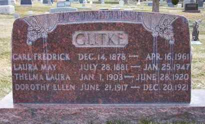 JONES GUTKE, LAURA MAY - Salt Lake County, Utah | LAURA MAY JONES GUTKE - Utah Gravestone Photos