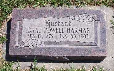 HARMAN, ISAAC POWELL - Salt Lake County, Utah | ISAAC POWELL HARMAN - Utah Gravestone Photos