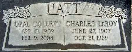 HATT, OPAL - Salt Lake County, Utah   OPAL HATT - Utah Gravestone Photos